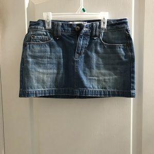 Aeropostale jean skirt
